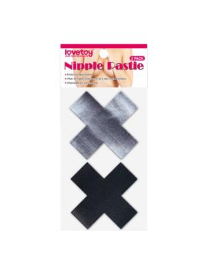 Cross Pattern Nipple Pasties