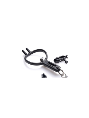 Degraded Mouth gag and nipple clamps