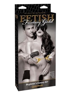 Pipedream Fetish Fantasy Gold - Beginners Fantasy Kit