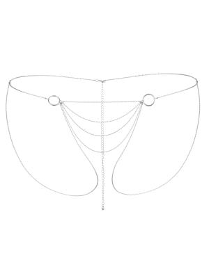 Bijoux Indiscrets - Magnifique Bikini Chain Silver