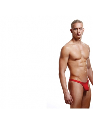 ENVY - LOW-RISE THONG RED