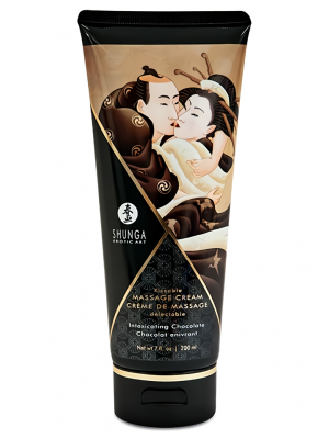 Kissable Massage Cream Intoxicating Chocolate 200ml
