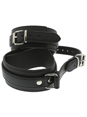 BLAZE ANKLE CUFFS WITH CONNECTION STRAP