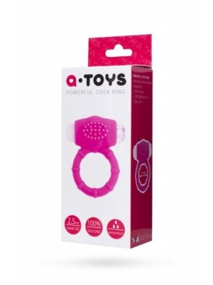 Vibro Ring Pink Silicone - 2.5cm