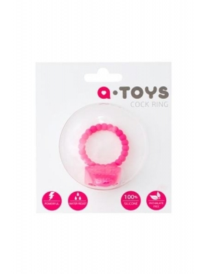 A-TOYS -Silicone Penis VibroRing - 3.5cm