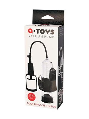 A-TOYS  Vibrating Penis Pump