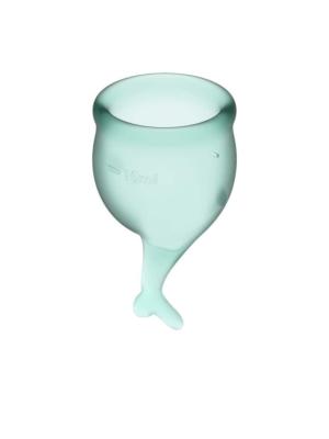 Feel Secure Menstrual Cup Dark Green