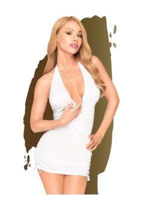 Penthouse Earth-Shaker Mini Dress White