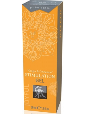 Stimulation Gel - Ginger & Cinnamon 30 ml