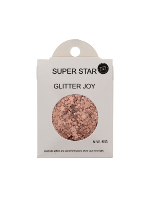 Super Star - Assorted Design Glitter for Skin, Hair & Nails