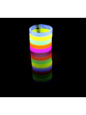 15 Pieces in a Tube 8 Inch Glow Bracelets