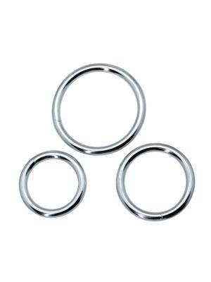 Timeless Metal cock Rings (3 pcs)