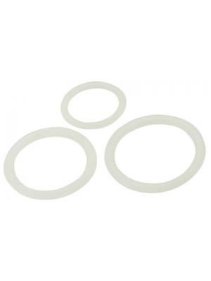 Timeless Silicone Cock Rings (3 pcs)