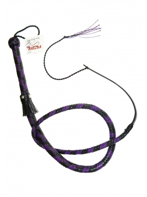 Leather Lush With Tail Purple