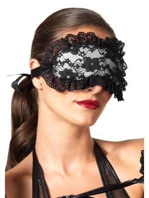Lace & satin eyemask