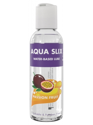 Kinx Aqua Slix Flavoured Water-Based Lubricant Passion Fruit 100ml