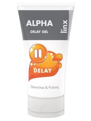 Linx Alpha Delay Gel Transparent 50ml