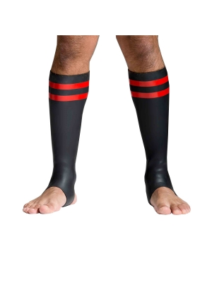 Neoprene Socks - Red - Tall