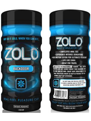 Zolo Back Door Cup Blue OS