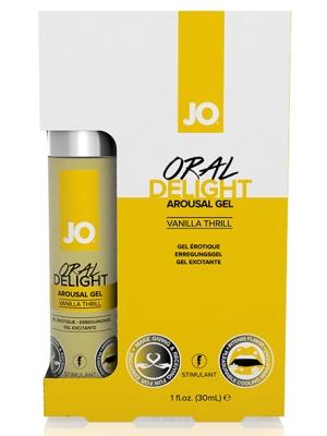 System JO - Oral Delight Arousal Gel Vanilla Thrill 30 ml