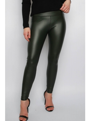 Missi Clothing Wet Look Leggings one size