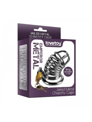 Lovetoy Metal Chastity Cage