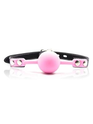 Ροζ μπάλα - δάγκωμα φετίχ με λουκέτο
