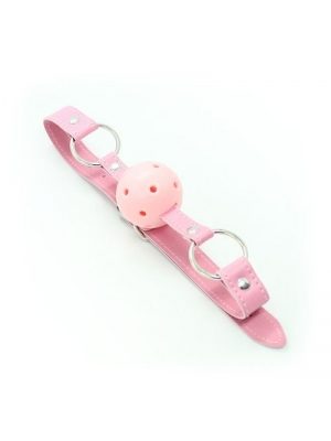 Breathable Ball Mouth Gag (pink)