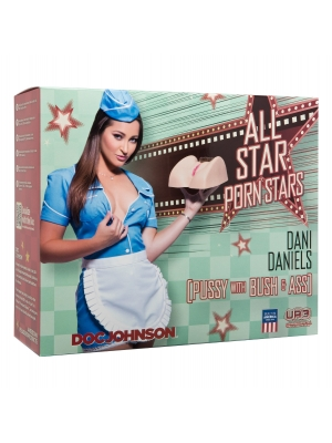 All Star Porn Stars Dani Daniels Pussy with Bush and Ass Flesh OS