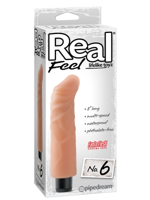 Pipedream Real Feel Lifelike Toyz No 6 Flesh 8in