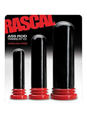 Rascal The Ass Rod Training Kit V2 Black