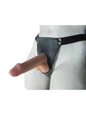 Strapon Underwear Belt (Without Dildo)-Vegan Leather