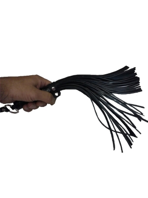 Classic flogger with tails 35cm - Vegan Leather