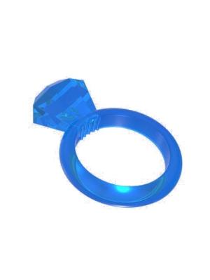 Δαχτυλίδι πέους σε σχήμα διαμάντι μπλε