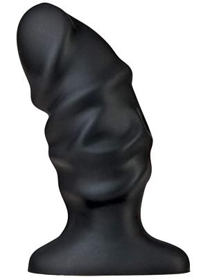 PLATINUM PREMIUM SILICONE - THE RAGING PLUG - BLACK