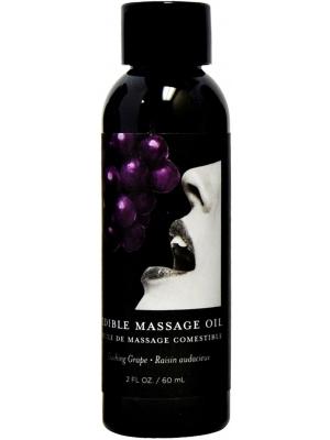 Grape Edible Massage Oil - 2oz / 60ml