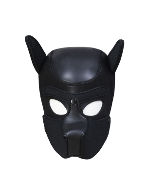 Neoprene Puppy Dog BDSM Hood M-L
