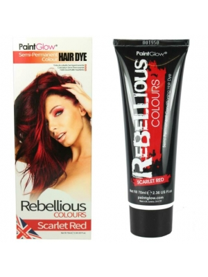 Semi-Permanent Hairdye, 70ml - Tango Red