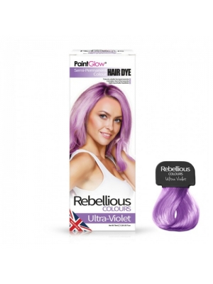 Semi-Permanent Hairdye, 70ml - Ultra-Violet