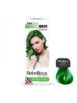 Semi-Permanent Hairdye, 70ml - Voodoo Green
