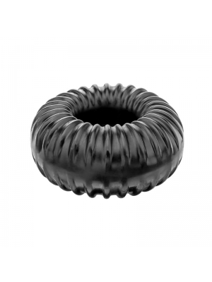 Perfect Fit Ribbed Ring Black OS