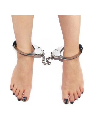 Pleasure Metal Leg Cuffs