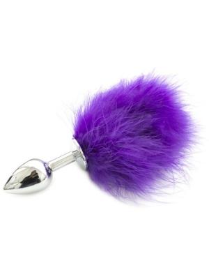 Pon Tail Anal Plug Purple