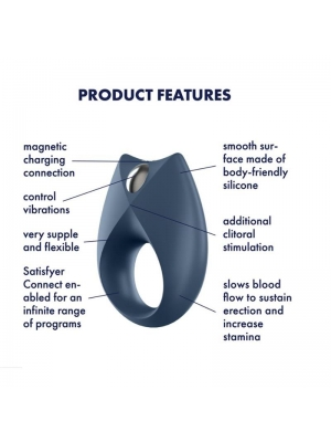 Satisfyer Royal One Ring incl. Bluetooth and App