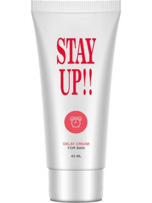 STAY UP DELAY CREME FOR MEN 40 ML - LAVETRA