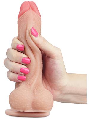 Sliding Skin Dong 7 inch - Debranet
