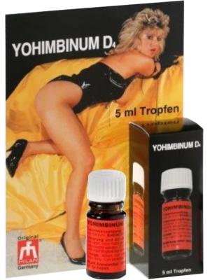 Drops - YOHIMBIN, 5 ml  - only bottle